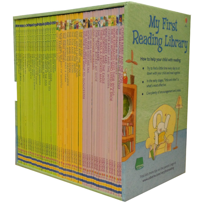 First Reading Library Books Set