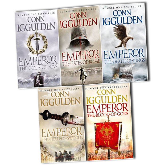 Conn Iggulden Emperor Series, 5 Books Collection Pack Set - The Book Bundle