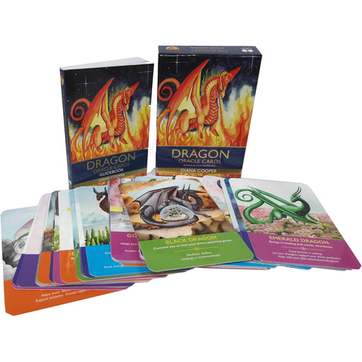 Dragon oracle cards and guidebook pack set - The Book Bundle