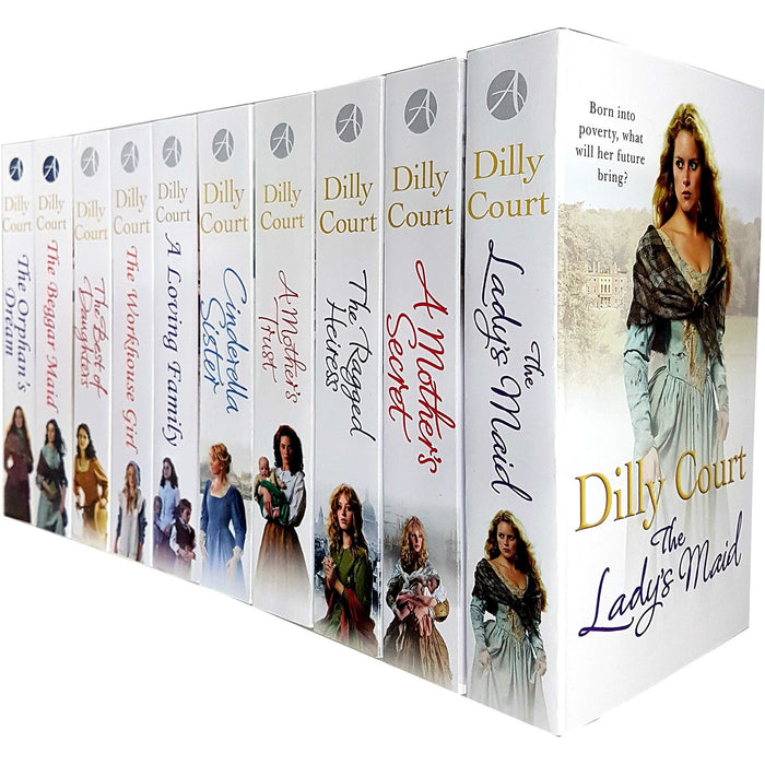 Dilly Court Collection 10 Books Set - The Book Bundle