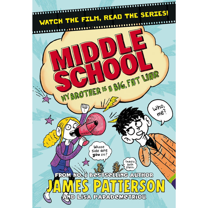 Middle School 7 Books Collection Set by James Patterson - The Book Bundle