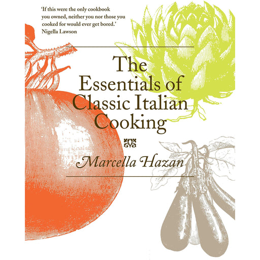 The Essentials of Classic Italian Cooking by Marcella Hazan - The Book Bundle