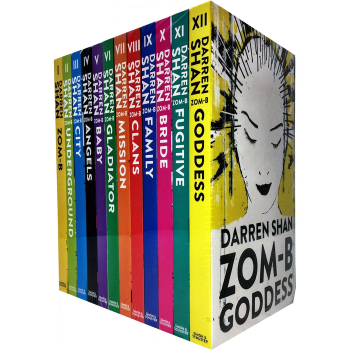 Zom-B 12 Books Collection Set Pack By Darren Shan - The Book Bundle