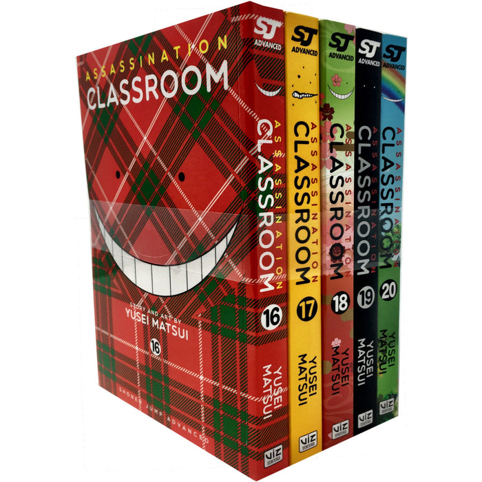 Assassination Classroom Yusei Matsui Volume 16-20 Collection 5 Books Set (Series 4) - The Book Bundle