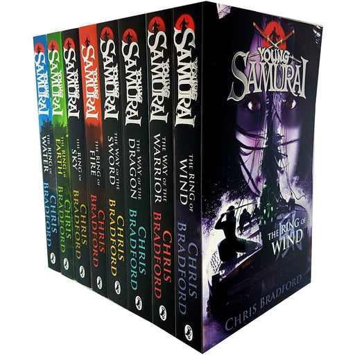 Young Samurai Series 8 Books Collection Set Pack - The Book Bundle