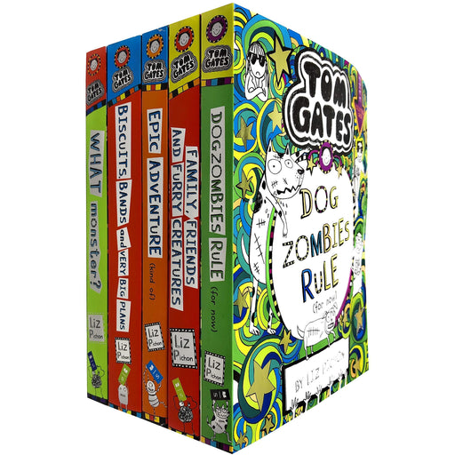 Tom Gates Series 3: 5 Books Collection Set By Liz Picho - The Book Bundle