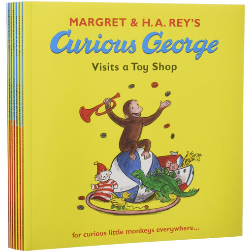 Curious George Collection - 7 Books - The Book Bundle
