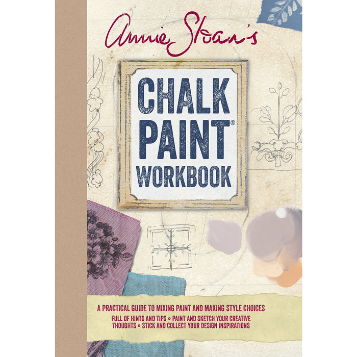 Annie Sloan's Chalk Paint® Workbook - A practical guide to mixing paint and making style choices - The Book Bundle