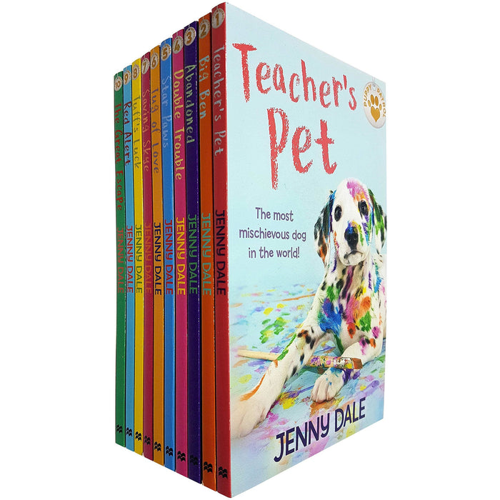 Jenny Dale Puppy Patrol Collection 10 Books Set - The Book Bundle