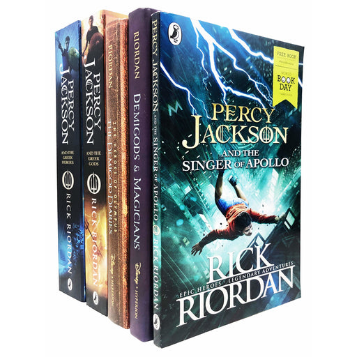 Rick Riordan Collection 5 Books Set - The Book Bundle