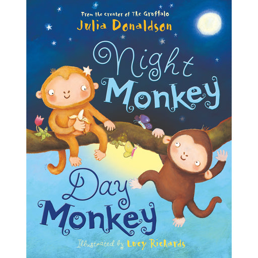 Night Monkey, Day Monkey: 1 Paperback NEW - The Book Bundle