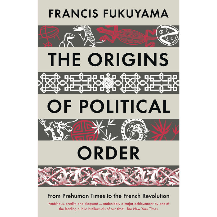 Francis Fukuyama 3 Books Collection Set (Identity [Hardcover], Political Order And Political Decay, The Origins Of Political Order) - The Book Bundle
