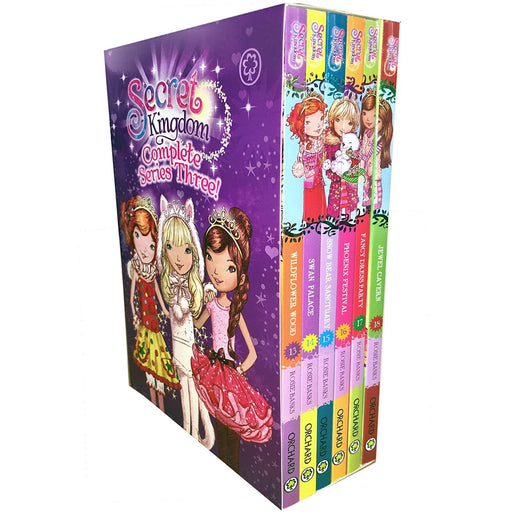 Orchard Books Secret Kingdom Series 3-6 Book Box Set - The Book Bundle