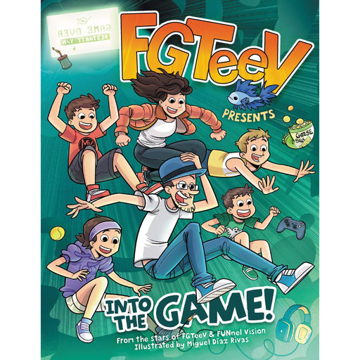 FGTeeV PRESENTS: INTO THE GAME! - The Book Bundle