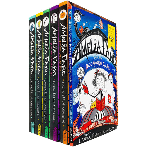 Amelia Fang Series 6 Books Collection Set by Laura Ellen Anderson (Bookworm Gang, Barbaric Ball, Unicorn Lords) - The Book Bundle