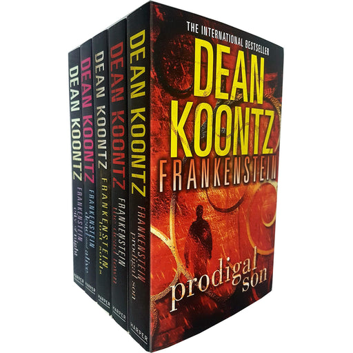 Dean Koontz's Frankenstein Series 5 Books Collection Set( The Dead Town, Lost Souls, Dead and Alive, City of Night, Prodigal Son ) - The Book Bundle