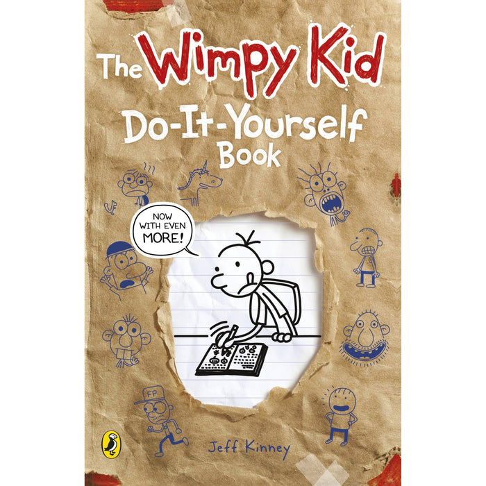 Diary of a Wimpy Kid 14 Books Collection Set by Jeff Kinney - The Book Bundle