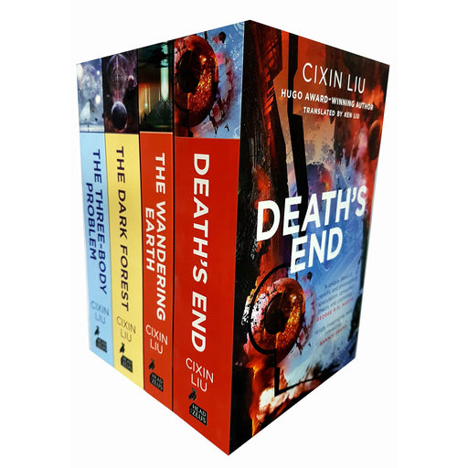 Cixin Liu three body problem 4 books collection set (the three-body problem, the dark forest, death's end, the wandering earth) - The Book Bundle