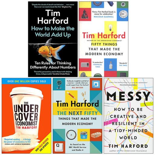 Tim Harford Collection 5 Books Set - The Book Bundle
