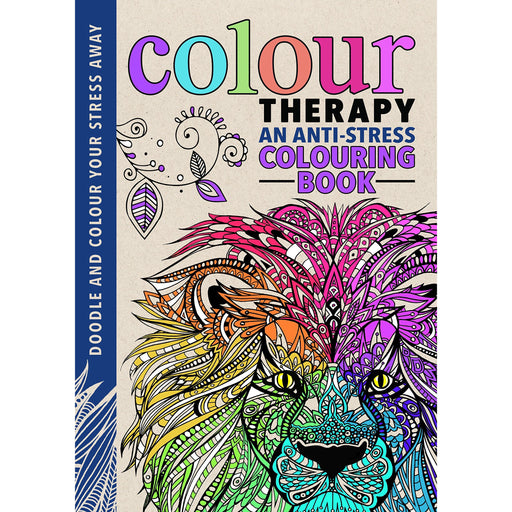 Colour Therapy (Creative Colouring for Grown-ups) - The Book Bundle