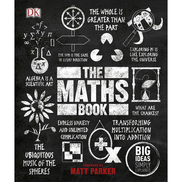 The New Complete Book of Self-Sufficiency By John Seymour & The Maths Book Big Ideas Simply Explained By DK 2 Books Collection Set - The Book Bundle