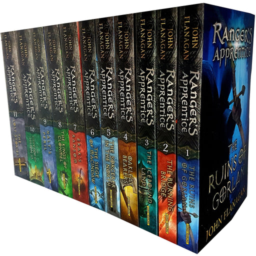 John flanagan rangers apprentice series 11 books collection set - The Book Bundle