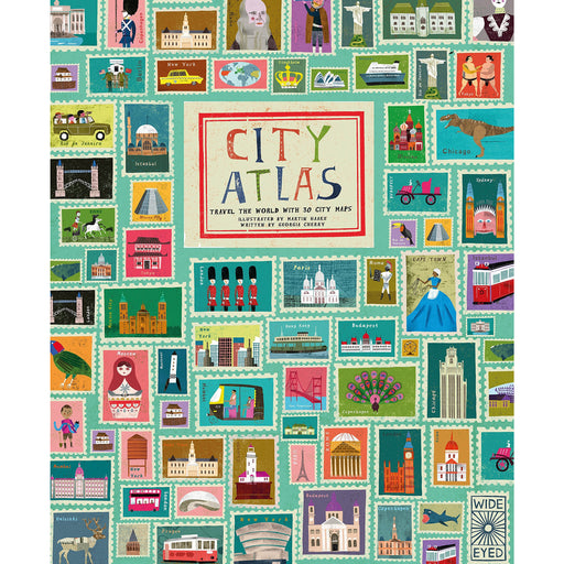 City Atlas: Discover the personality of the world's best-loved cities in this illustrated book of maps - The Book Bundle
