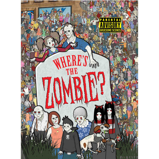 Where's the Zombie? (Buster Activity) - The Book Bundle