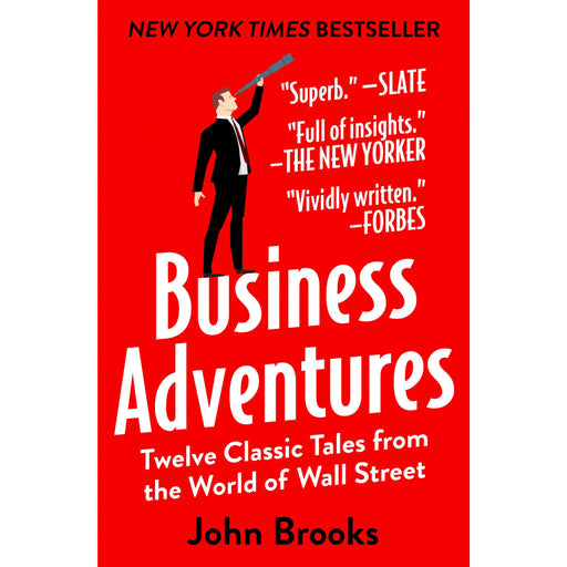 Business Adventures: Twelve Classic Tales from the World of Wall Street Hardcover - The Book Bundle