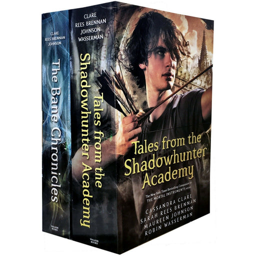Cassandra Clare Shadowhunter Series 2 books collection pack set Bane Chronicles - The Book Bundle
