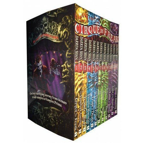 Cirque Du Freak Series Killers of the Dawn,Lord of the 12 Books Collection - The Book Bundle