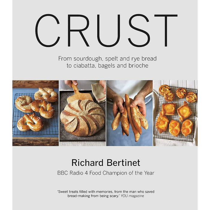 Crust: From Sourdough, Spelt and Rye Bread to Ciabatta, Bagels and Brioche (with DVD) Paperback - The Book Bundle
