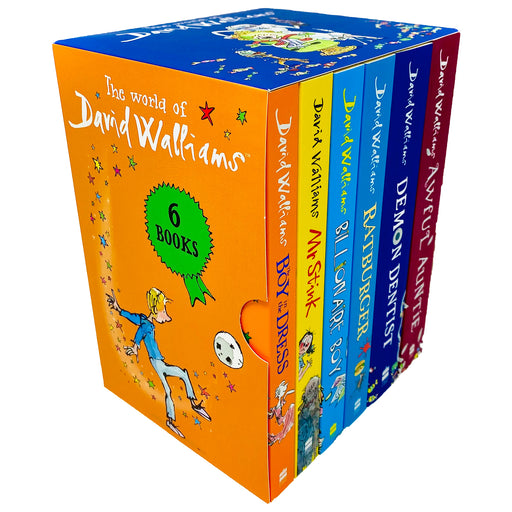 The World of David Walliams 6 Books Collection Box Set - The Book Bundle