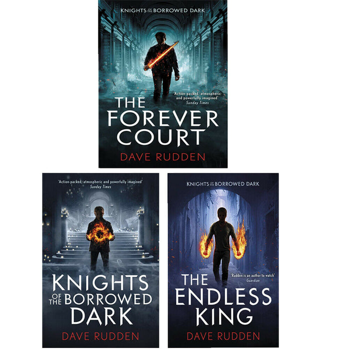 Dave Rudden Knights Of The Borrowed Dark Trilogy 3 Books Collection Set NEW - The Book Bundle