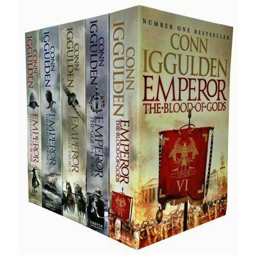 Emperor Series 5 Fantasy Books Collection Set By Conn Iggulden Paperback - The Book Bundle