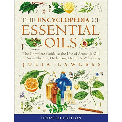 Encyclopedia of Essential Oils by Julia Lawless [Paperback] NEW 9780007145188 - The Book Bundle