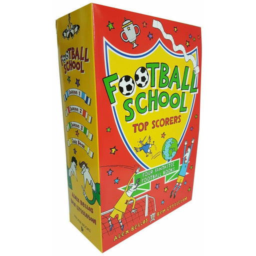 Football School Series Top Scorers 4 Books Collection Box Set Season Pack NEW - The Book Bundle