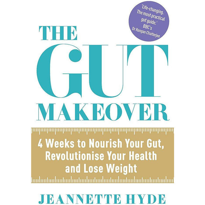 The Gut Makeover: 4 Weeks to Nourish Your Gut, Revolutionise Your Health and Lose Weight Paperback - The Book Bundle
