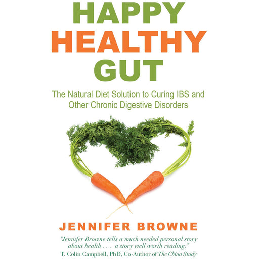 Happy Healthy Gut: The Plant-Based Diet Solution to Curing IBS and Other Chronic Digestive Disorders Paperback - The Book Bundle