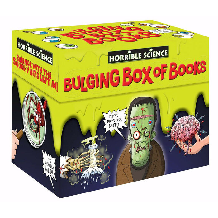 Horrible Science Bulging Box Set 20 Books Collection by Nick Arnold PB NEW - The Book Bundle