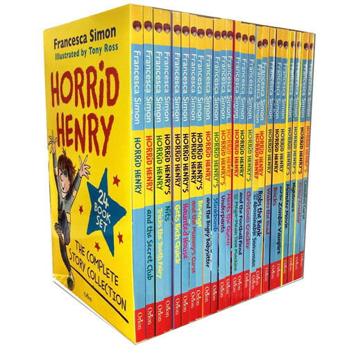 Horrid Henry The Complete Story Collection 24 Books Box Set by Francesca Simon - The Book Bundle