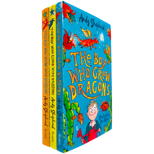 The Boy Who Grew Dragons Series 3 Books Collection Set by Andy Shepherd NEW - The Book Bundle