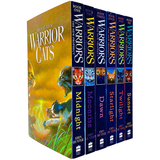 Warrior Cats: Volume 1 to 6: The Complete First Series (Warriors: The Prophecies Begin) by Erin Hunter - The Book Bundle