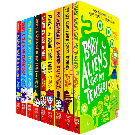 Baby Aliens Series Collection 9 Books Set By Pamela Butchart - The Book Bundle