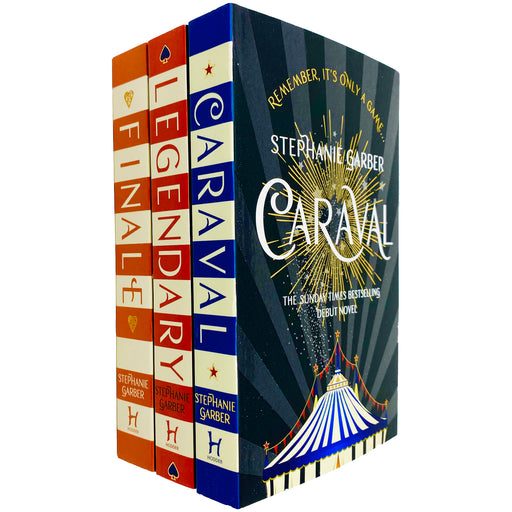 Caraval Series Complete Trilogy Collection 3 Books Set by Stephanie Garber (Caraval, Legendary & Finale) - The Book Bundle
