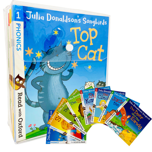 Julia Donaldson's Songbirds Read with Oxford Phonics 36 Books Collection Set (Stage 1 - 4) - The Book Bundle