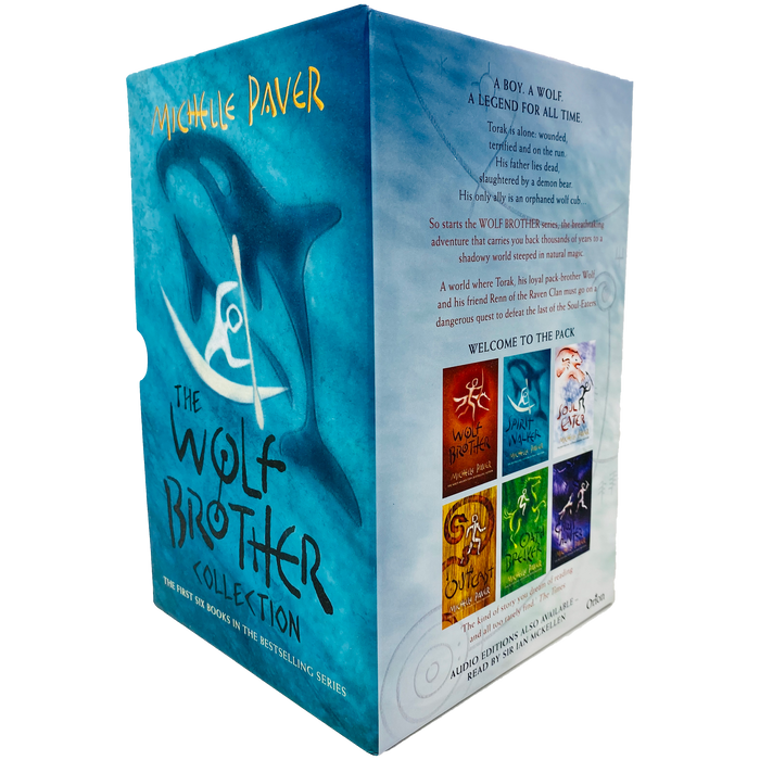 Chronicles of Ancient Darkness The Wolf Brother Collection 6 Books Box Set by Michelle Paver - The Book Bundle