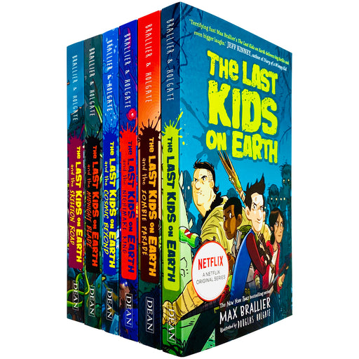 The Last Kids On Earth 6 Books Collection Set by Max Brallier - The Book Bundle