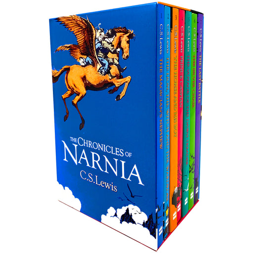 The Chronicles of Narnia Complete 7 Books Box Set Collection by C.S. Lewis - The Book Bundle