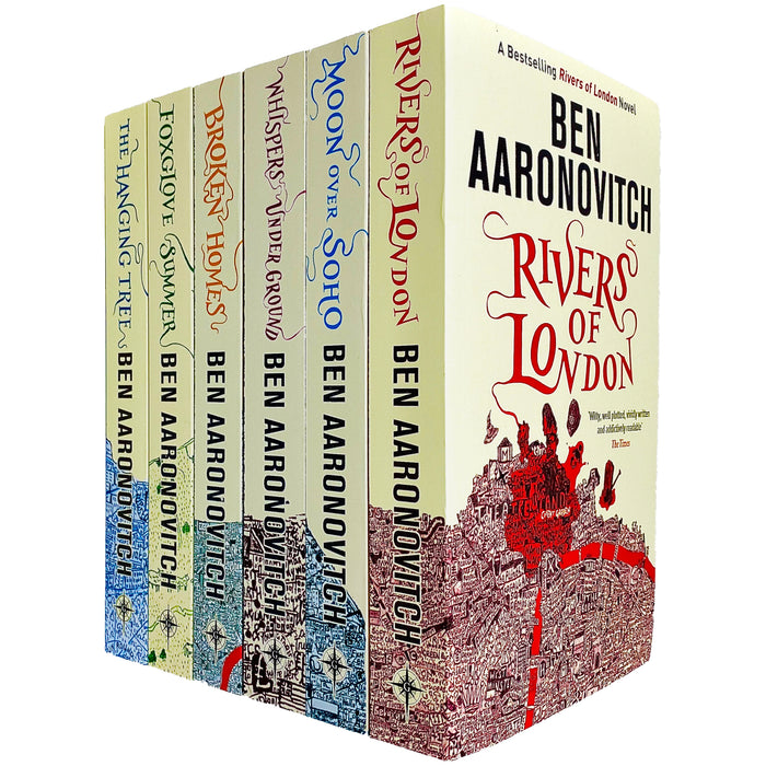 Rivers of London 6 Books Collection Set by Ben Aaronovitch - The Book Bundle